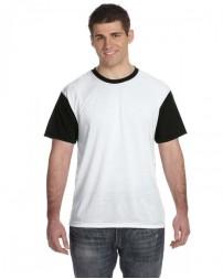 S1902 Men's Blackout Sublimation T-Shirt - Sublivie Mens T Shirts