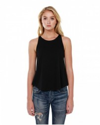 ST1086 Ladies' 3.5 oz., 100% Cotton Rounded Tank - StarTee Drop Ship Womens T Shirts