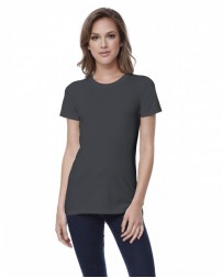 ST1210 Ladies' Cotton Crew Neck T-shirt - StarTee Drop Ship Womens T Shirts