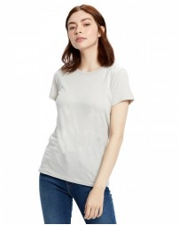 US100 Ladies' Made in USA Short Sleeve Crew T-Shirt - US Blanks Womens T Shirts