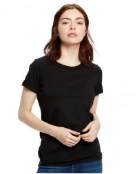 US100OR Ladies' Organic Crewneck T-Shirt - US Blanks Womens T Shirts