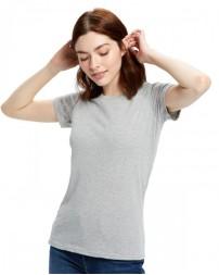 US100R Ladies' 5.8 oz. Short-Sleeve Recover Yarn Crewneck - US Blanks Womens T Shirts