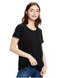 US115 Ladies' Short-Sleeve Loose Fit Boyfriend Tee - US Blanks Womens T Shirts