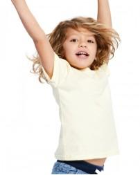 US2001K Toddler Organic Cotton Crewneck T-Shirt - US Blanks Baby T Shirts