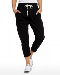 US204 Ladies' 2x1 Ribbed Capri Sweatpant - US Blanks Sweatpants